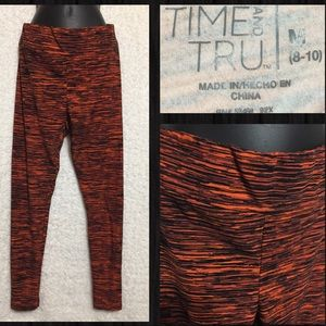 🔥5 for $10🔥 Time And Tru Leggings M (8-10)